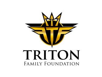 Triton Family Foundation logo design