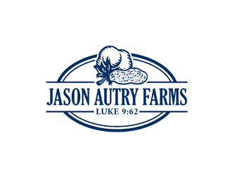 jason autry farms logo design 48hourslogo com