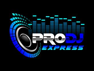 Pro Dj Express Logo Design 48HoursLogocom