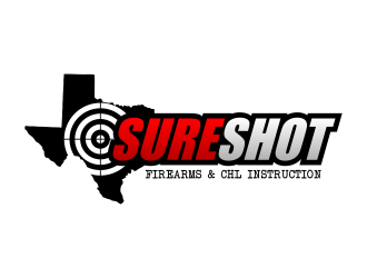 Sure Shot Firearms Instruction logo design