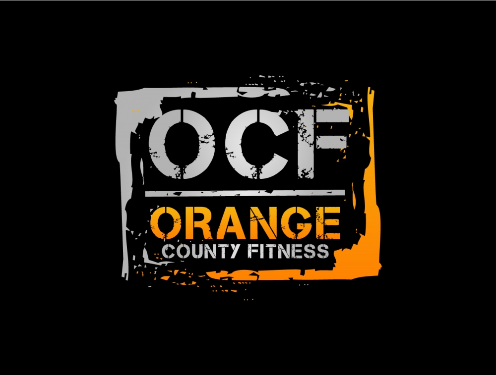 Orange County Fitness Logo Design
