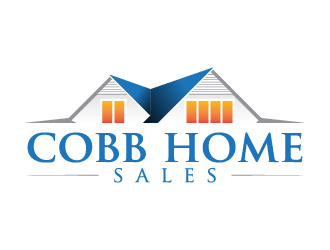 Cobb Home Sales logo design