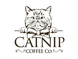 Catnip Coffee Company logo design
