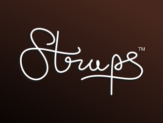 Straps logo design winner