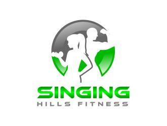 Singing Hills Fitness logo design - 48HoursLogo.com