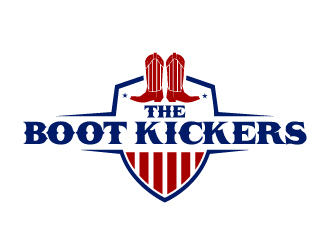 The Boot Kickers logo design