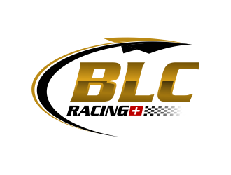 BLC racing logo design