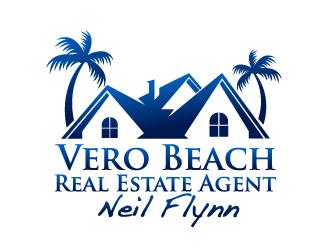 Vero Beach Real Estate Agent logo design - 48HoursLogo.com