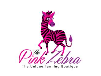 Text Logo Design Ideas The Pink Zebra logo de...
