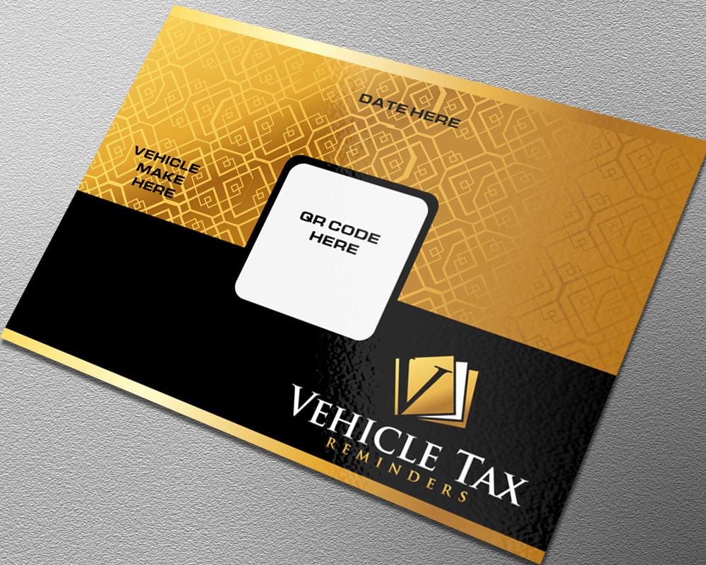 Vehicle Tax Reminders logo design