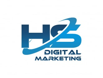 HS Digital Marketing logo design - 48hourslogo.com