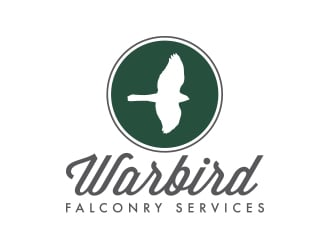 Warbird Falconry Services Inc. logo design