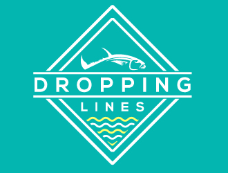 Dropping Lines.net logo winner