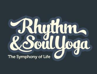 Rhythm & Soul Yoga logo design