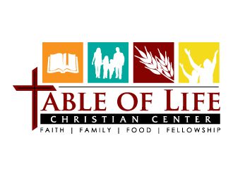 Table of Life Christian Center logo design