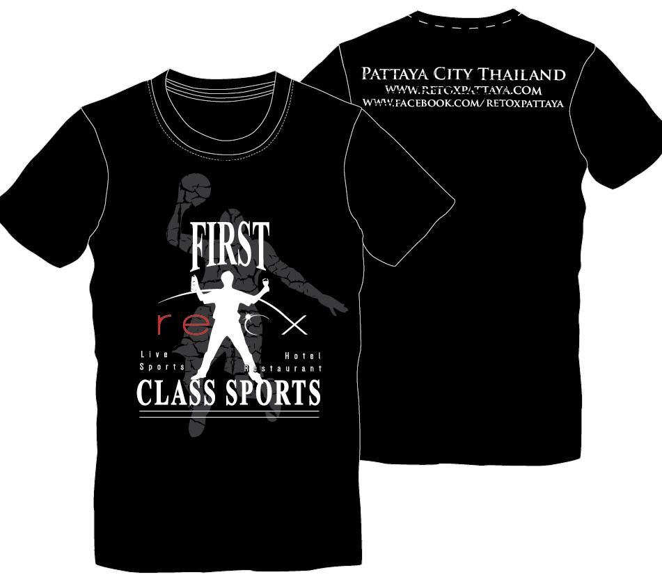Shirt design concepts - Retox Pattaya T Shirt Design Logo Design Concepts 9
