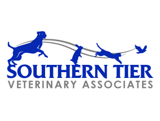 Southern Tier Veterinary Associates logo design