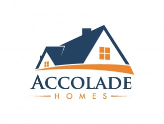 Accolade Homes logo design