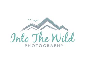 Into The Wild Photography logo design