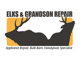 Elks & Grandson Repair logo design
