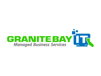 Granite Bay IT logo design
