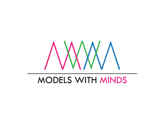Models With Minds logo design
