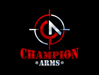 Champion Arms logo design