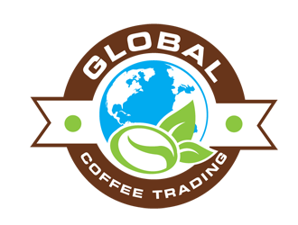 Global Coffee Trading logo design