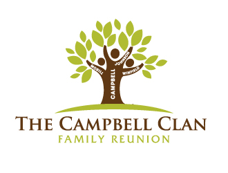 the campbell clan family reunion logo design 48hourslogo com