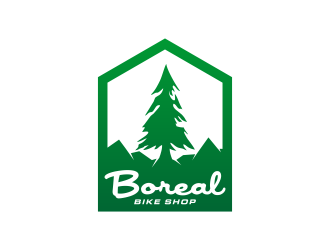 Boreal Bike Shop logo design