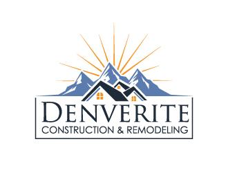Denverite Construction & Remodeling logo design