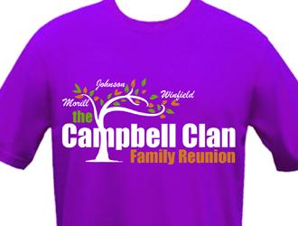 The Campbell Clan Family Reunion Logo Design 48hourslogo Com