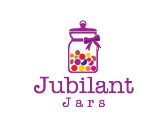 Jubilant Jars logo design