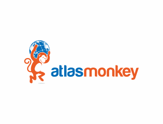 Atlas Monkey logo design
