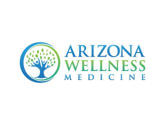 Arizona Wellness Medicine logo design