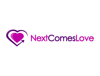 NextComesLove / Next Comes Love logo design