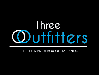 Three Outfitters logo design
