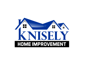 Knisely Home Improvement Logo Design Concepts #57 Part 38