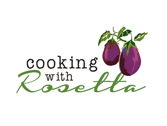 Cooking with Rosetta logo design