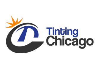 Tinting Chicago Logo Design