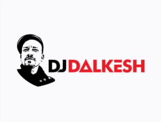 DJ DALKESH logo design