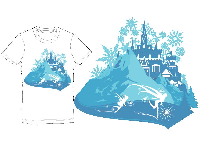 Mouse Monthly Winter T-Shirt Desgin logo design