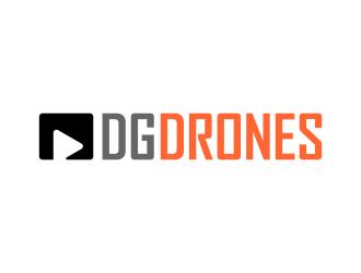 DG DRONES logo design