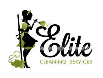 elite cleaning services logo design 48hourslogo com rh 48hourslogo com cleaning service logs cleaning service logs