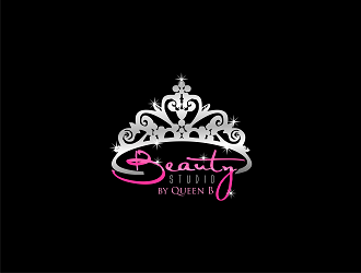 Beauty Studio by Queen B logo design - 48HoursLogo.com