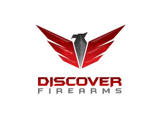 Discover Firearms logo design