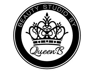 Beauty Studio by Queen B logo design