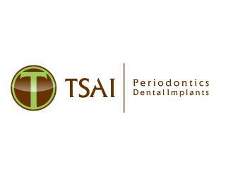Tsai Periodontics and Dental Implants logo design