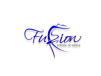 Fuzion School of Dance logo design