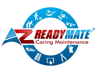 We Are Readymate logo design